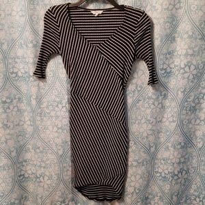 Candie's stretchy striped dress